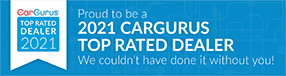 CarGurus Top Rated Dealer Badge for 2021