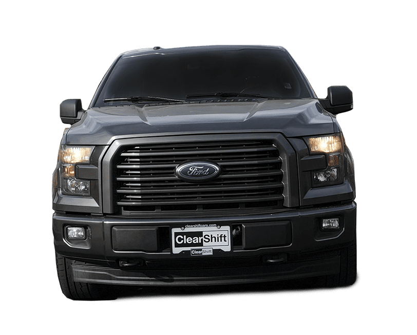 Dark Gray Ford Truck